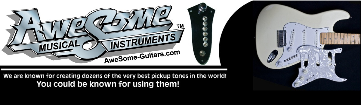 Awesome Guitars website